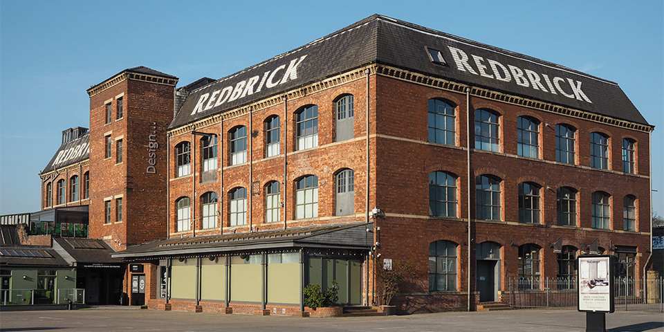 Redbrick viewed from the outside