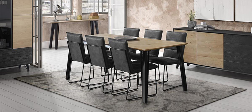 Baker Studio Dining Table and Chairs